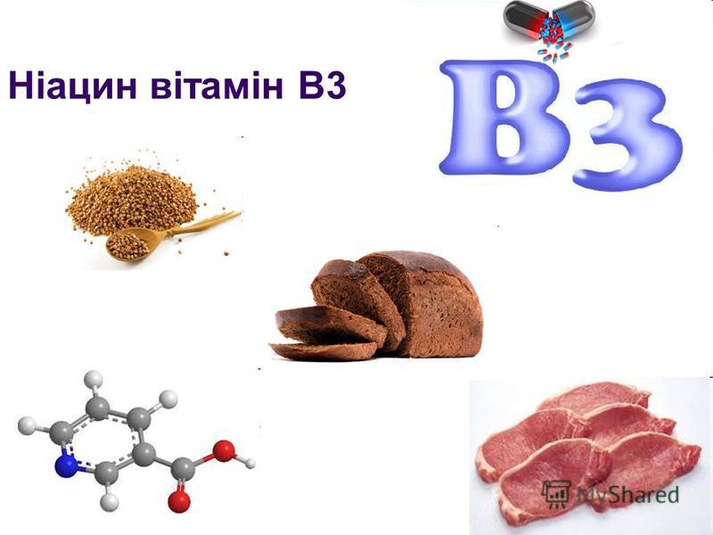 Ніацин вітамін B3