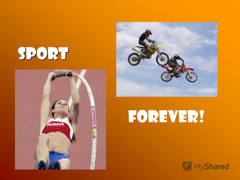 Sport Sport Forever!