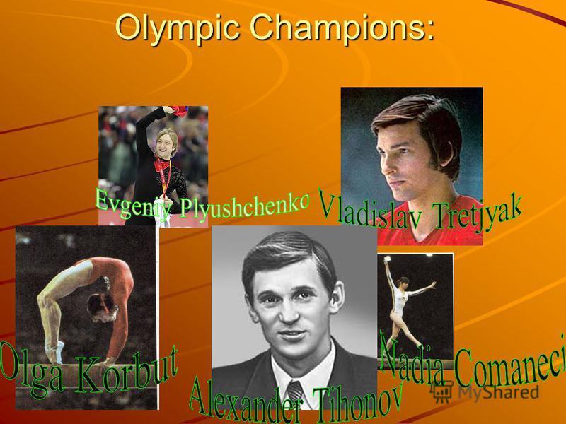 Olympic Champions: