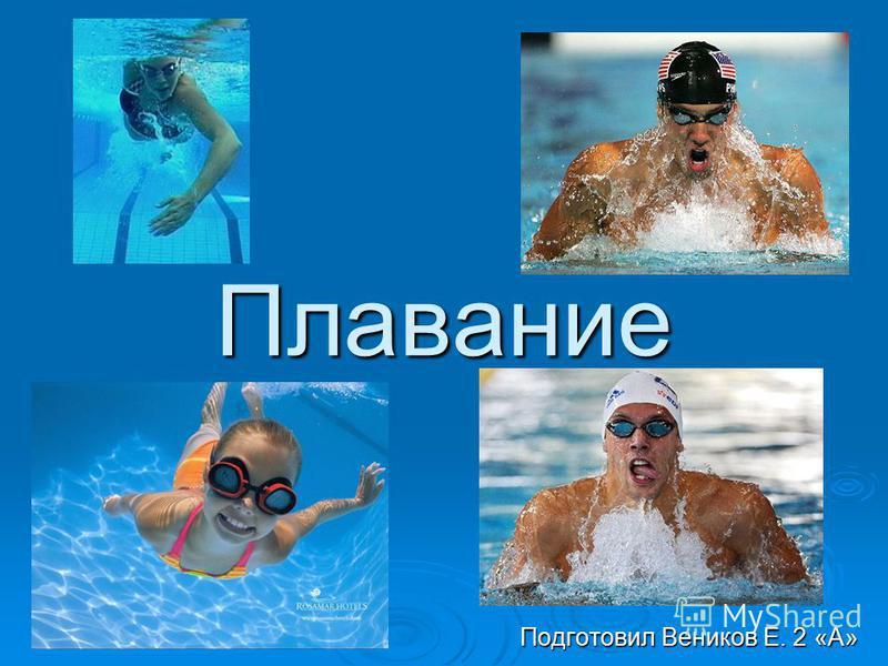 Плавание Подготовил Веников Е. 2 «А»