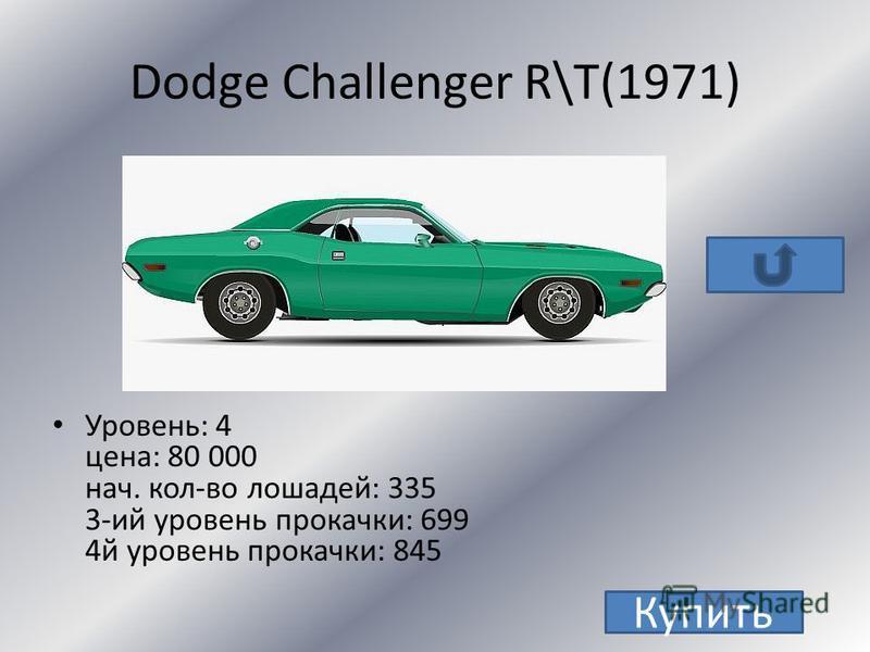 Dodge Dodge Challenger R\T(1971)