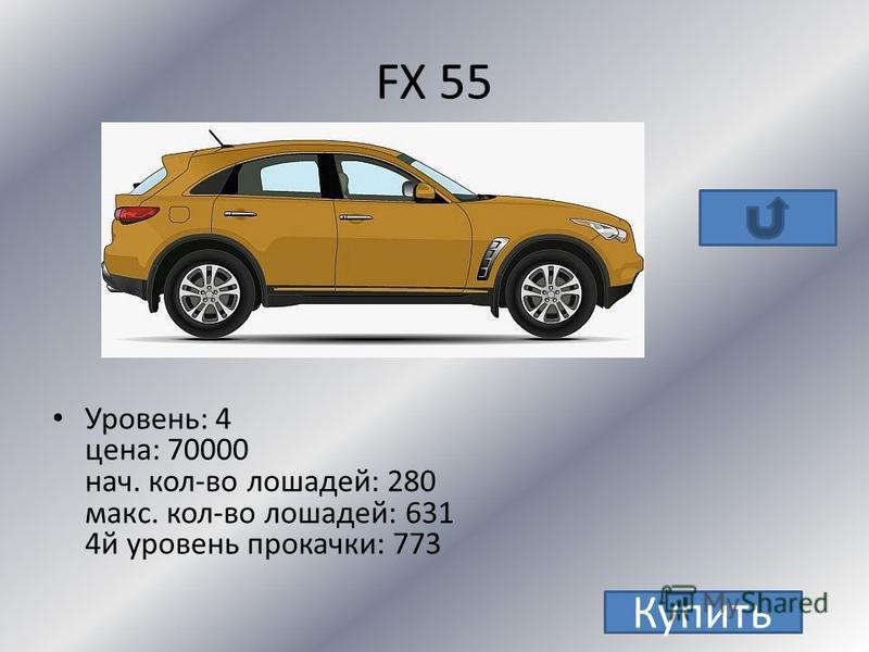 Infiniti FX 55
