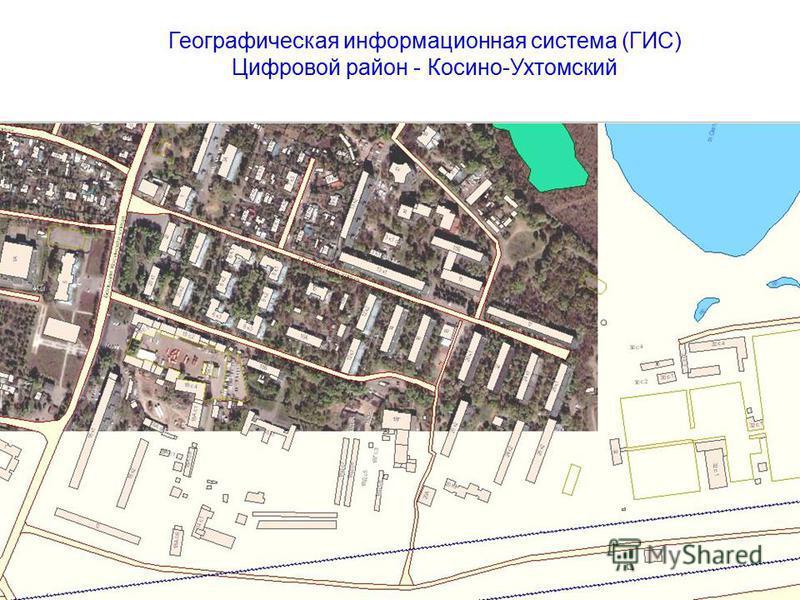 Географическая информационная система (ГИС) Цифровой район - Косино-Ухтомский