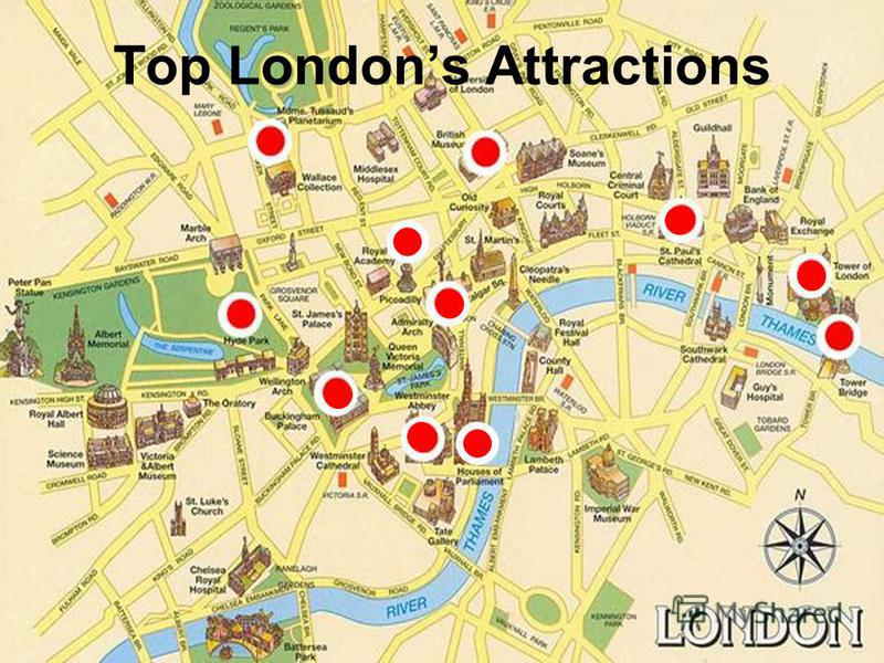 Top Londons Attractions