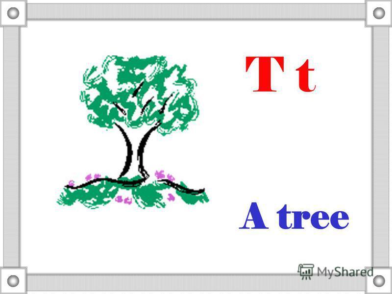 A tree T t