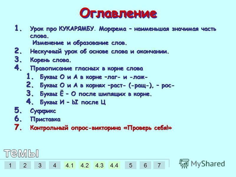 12344.14.24.34.4567 Яблочко от яблони недалеко падает, или как образуются слова.