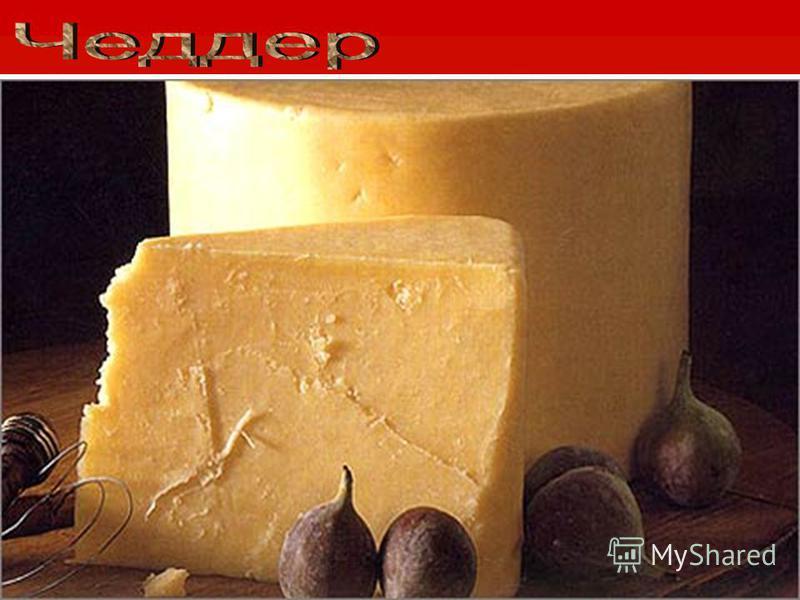 Истинно английский сыр назван так по имени городка в графстве Сомерсет, где его впервые изготовили в конце XVI века. Поначалу его делали из овечьего и козьего молока, потом перешли на коровье. Завернутый в ткань, чеддер зреет от 60 дней до полугода,