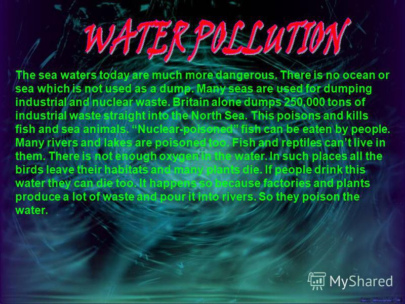 -pollution in ist many forms (water pollution, air pollution, nuclear pollution) ; -noise from cars, buses, planes, etc.; -destruction of wildlife and countryside beauty; -shortage of natural resources (metals, different kinds of fuel); -the growth o