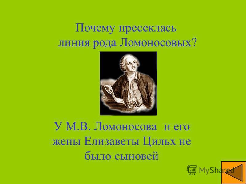 Как называлась деревня, в которой жили Ломоносовы и родился сам Михаил Васильевич? Мишанинская, позже слившаяся с Денисовкой