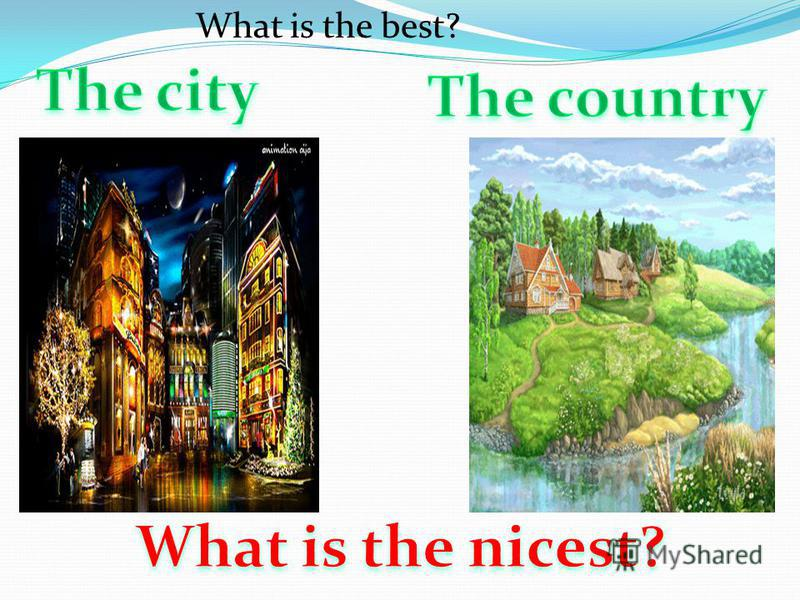 What is the best?
