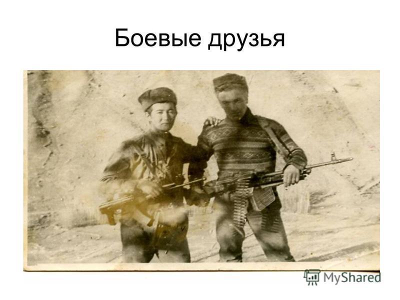 Боевые друзья