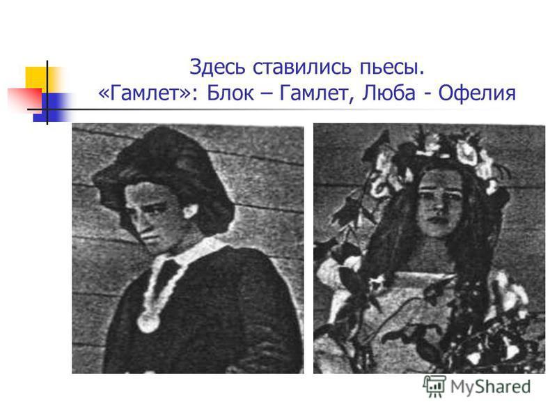 Имения Менделеева – Боблово – и ботаника Бекетова – Шахматово – располагались неподалёку. В Боблове и Шахматове (см. снимок) озвучили стихи, исполнялись музыкальные произведения, был организован домашний театр.