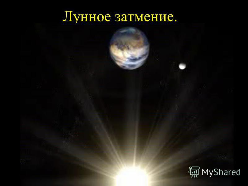 Лунное затмение.