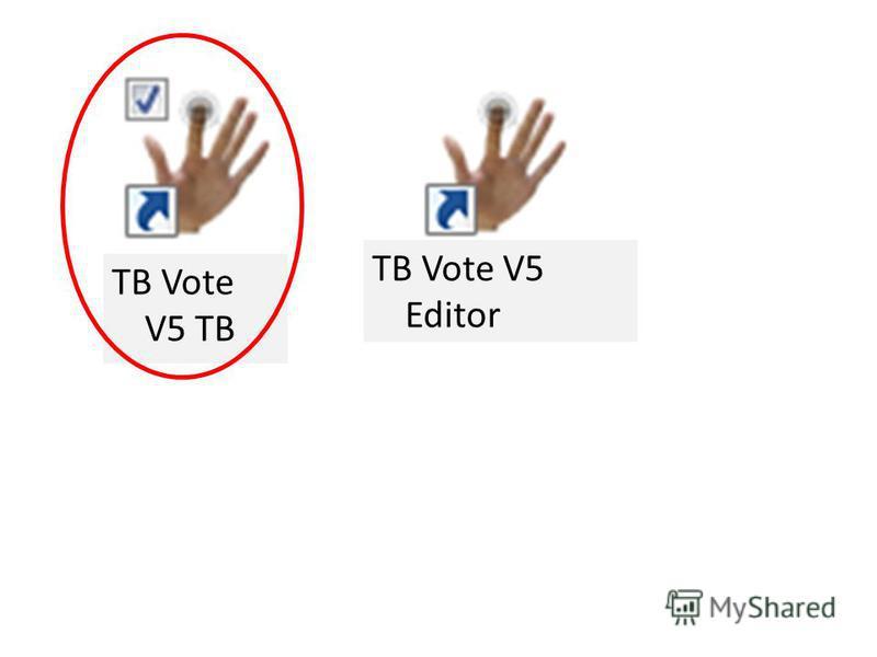 TB Vote V5 TB ТВ Vote V5 Editor