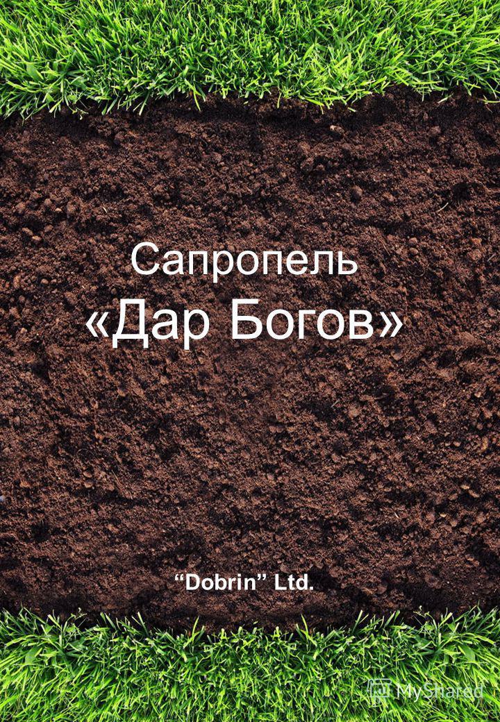 Сапропель «Дар Богов» Dobrin Ltd.