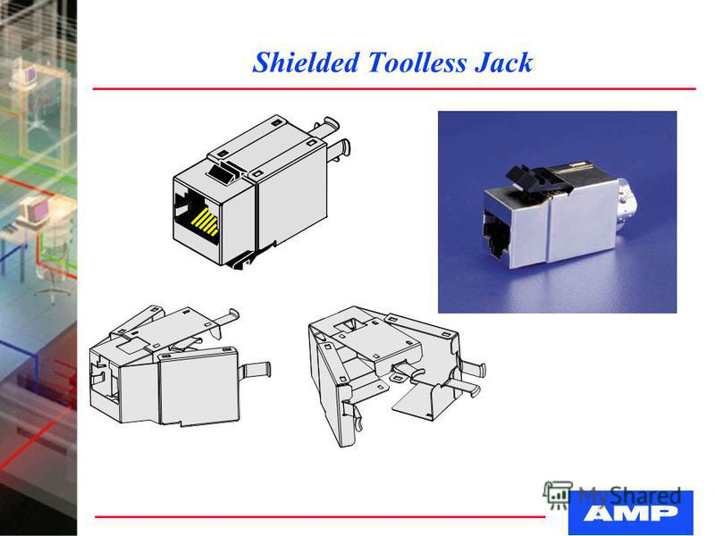 Shielded Toolless Jack
