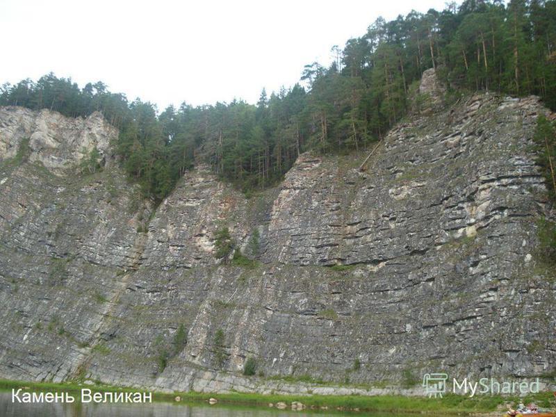 Скалы, как памятники природы, на Чусовой делятся на виды : геоморфологические ( имеют причудливые формы от выветривания ), геологические ( являются местом обнаружения окаменелостей ) и ботанические ( подлежат охране скальные растения и все придолинны
