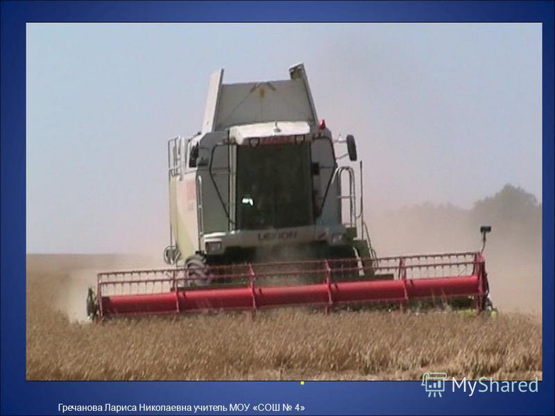 Из зёрнышка пшеницы можно получить около 20 миллиграммов муки первого сорта. Для выпечки одного батона требуется более 10 тысяч зёрен! Гречанова Лариса Николаевна учитель МОУ «СОШ 4»