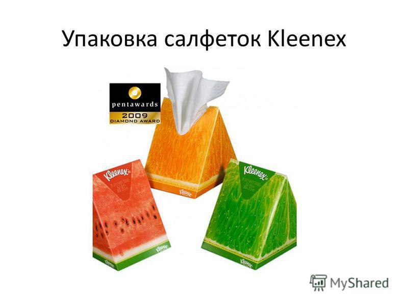 Упаковка салфеток Kleenex