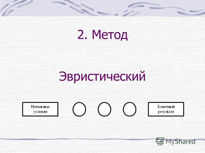 2. Метод Эвристический