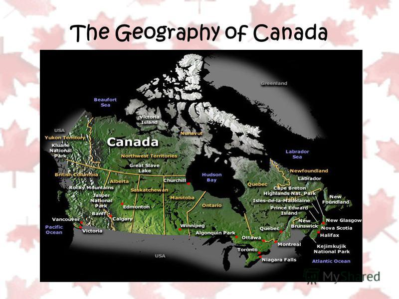 The Geography of Canada