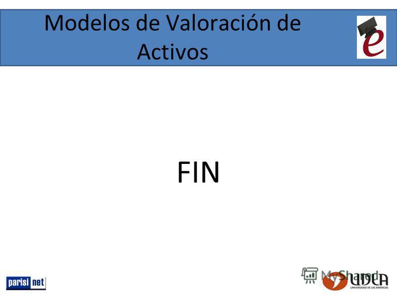Modelos de Valoración de Activos FIN