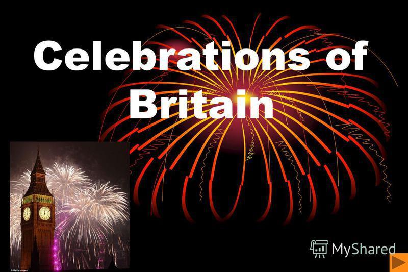Celebrations of Britain