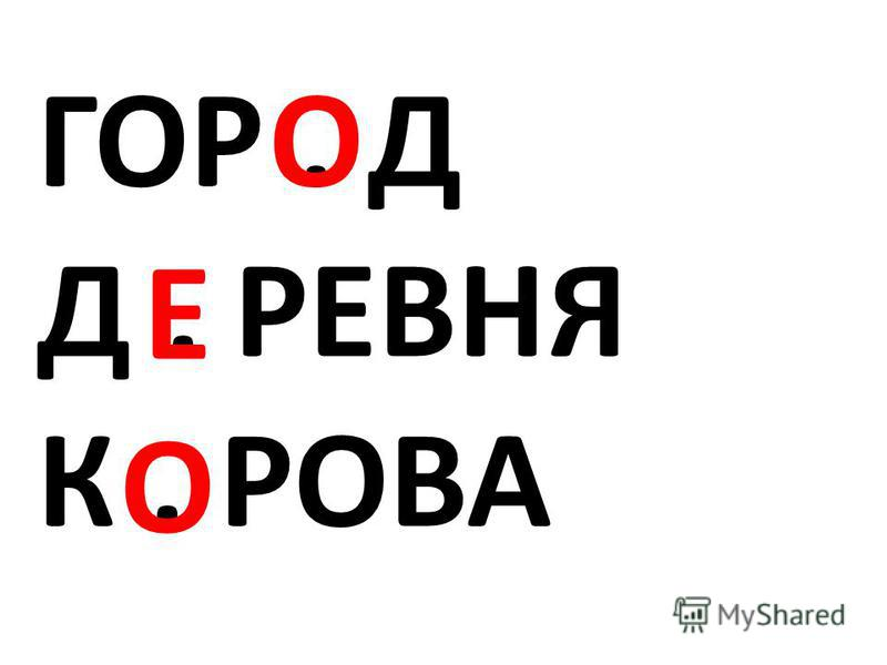ГОР. Д Д. РЕВНЯ К. РОВА О О Е