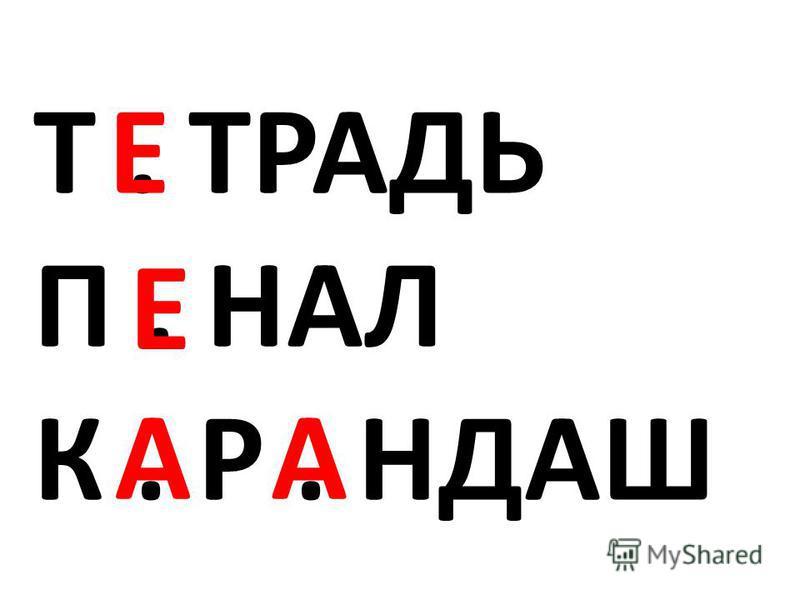 Т. ТРАДЬ П. НАЛ К. Р. НДАШ АА Е Е