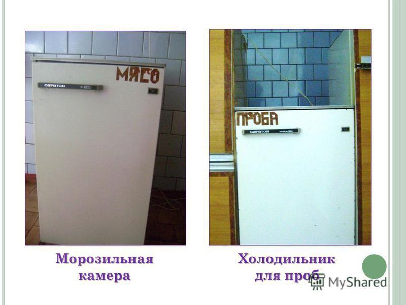 Морозильная камера Холодильник для проб
