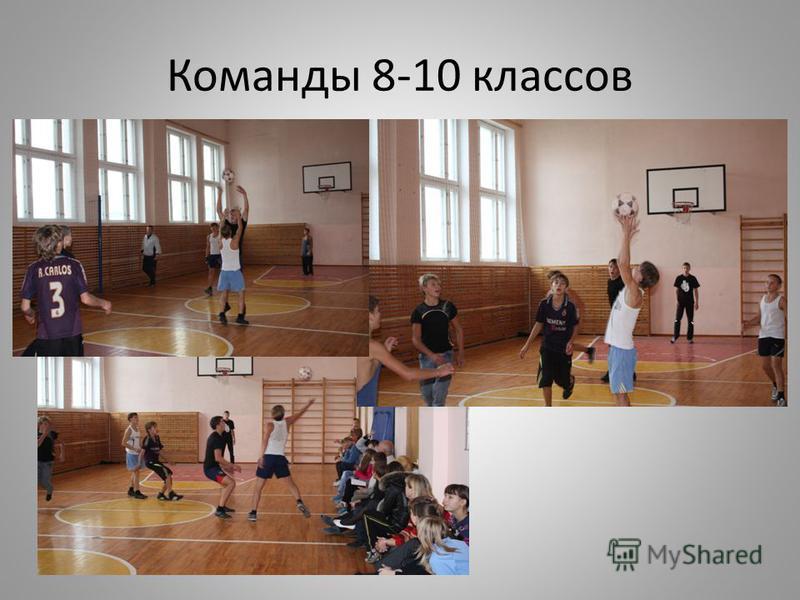 Команды 8-10 классов