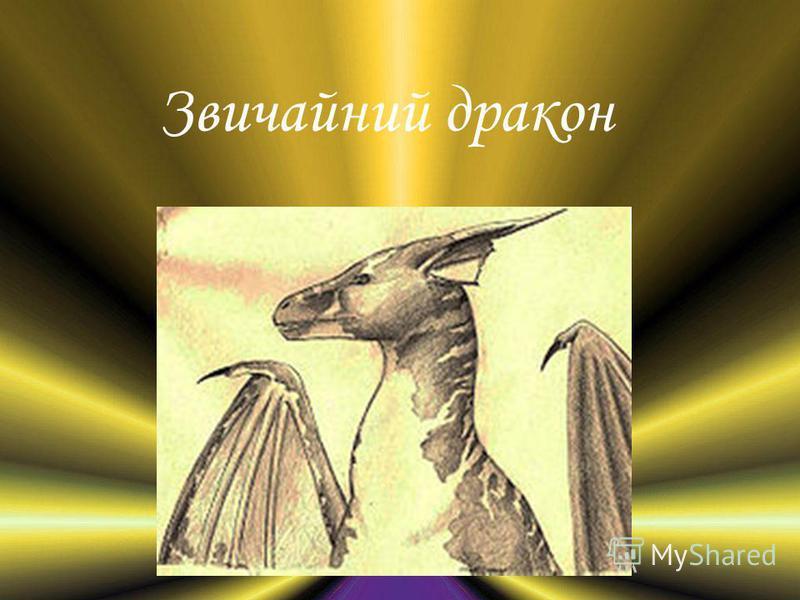 Звичайний дракон
