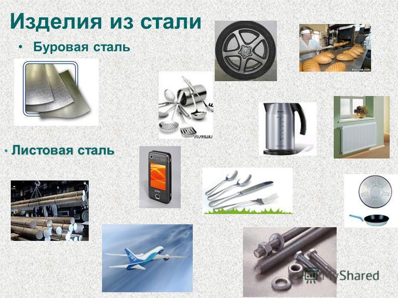 Изделия из стали Буровая сталь Листовая сталь Листовая сталь