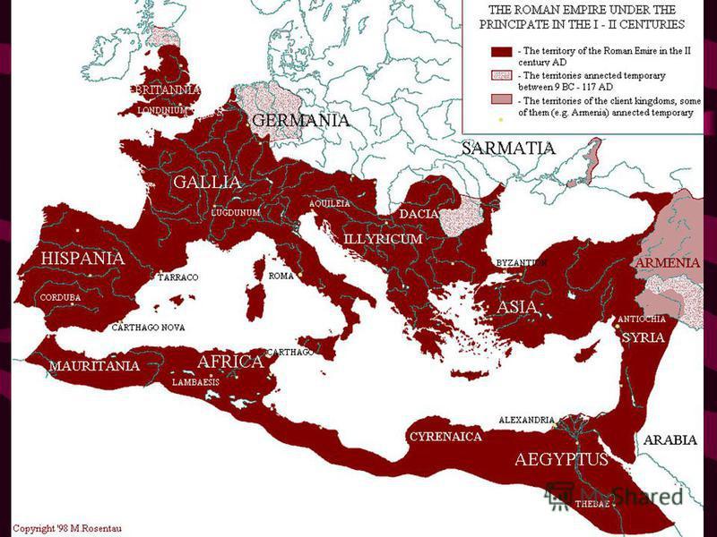 Архитектура Древнего Рима Под Древним Римом подразумевается не только город Рим античной эпохи, но также и все завоеванные им страны и народы, входившие в состав колоссальной Римской империи от Британских островов до Египта. Римское искусство высшее