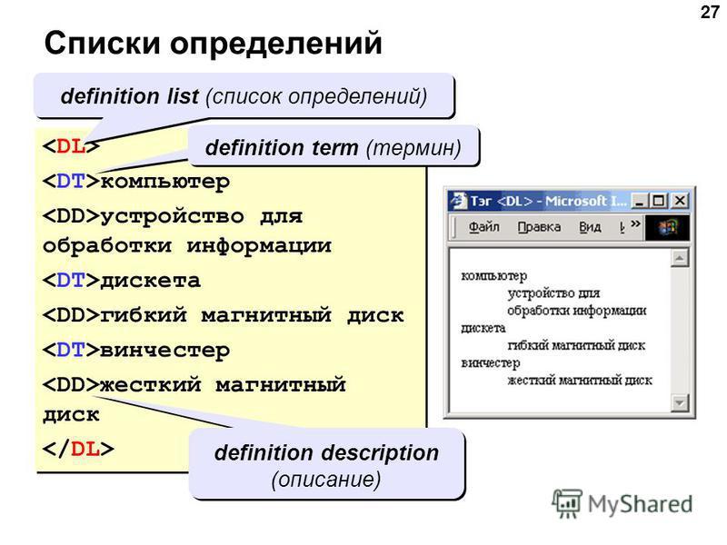 27 Списки определений компьютер устройство для обработки информации дискета гибкий магнитный диск винчестер жесткий магнитный диск компьютер устройство для обработки информации дискета гибкий магнитный диск винчестер жесткий магнитный диск definition