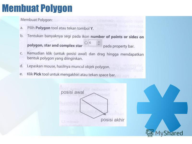 Membuat Polygon