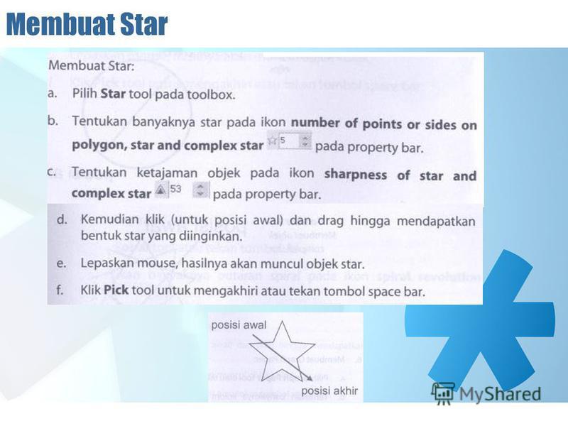 Membuat Star