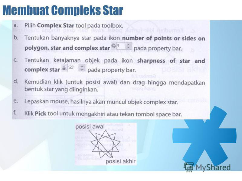 Membuat Compleks Star