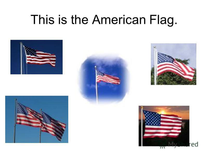 Click on the American Flag.