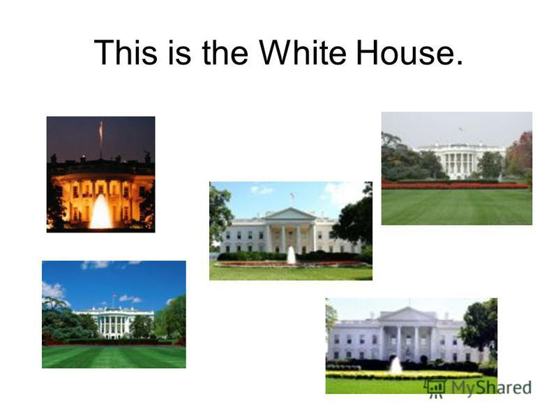 Click on the picture of the White House.