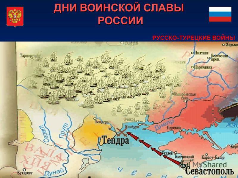 ДНИ ВОИНСКОЙ СЛАВЫ РОССИИ РУССКО-ТУРЕЦКИЕ ВОЙНЫ