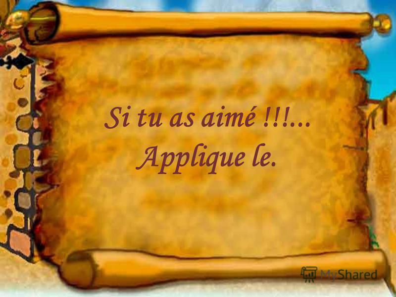 et vie intensément chaque instant de ta vie avant que le rideau ne tombe et que lœuvre se termine sans applaudissement!