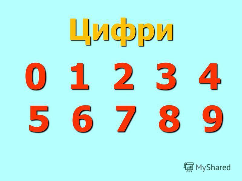 Цифри 0 1 2 3 4 5 6 7 8 9 0 1 2 3 4 5 6 7 8 9