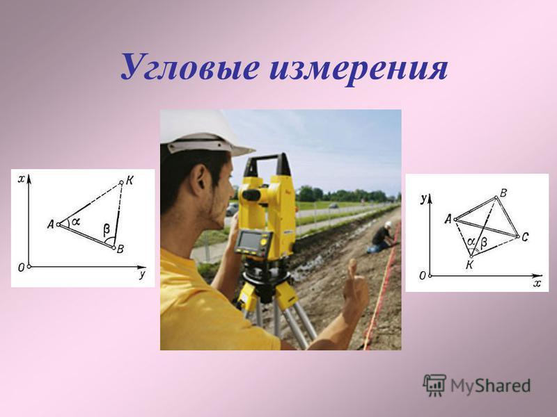 Угловые измерения
