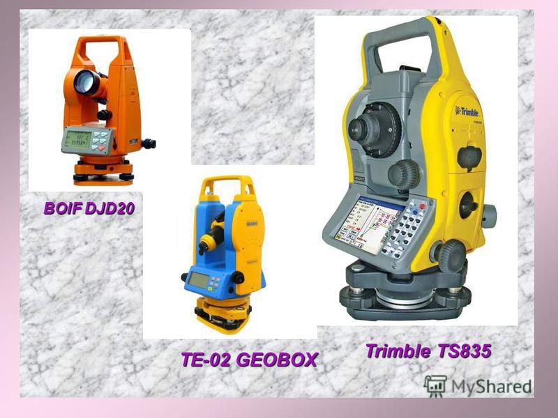 TE-02 GEOBOX Trimble TS835 BOIF DJD20