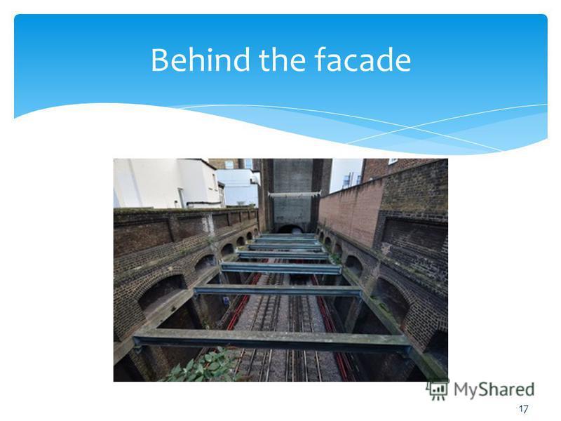 Behind the facade 17