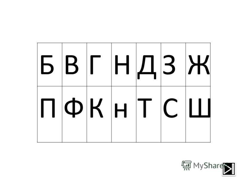 БВГНДЗЖ ПФКнТСШ