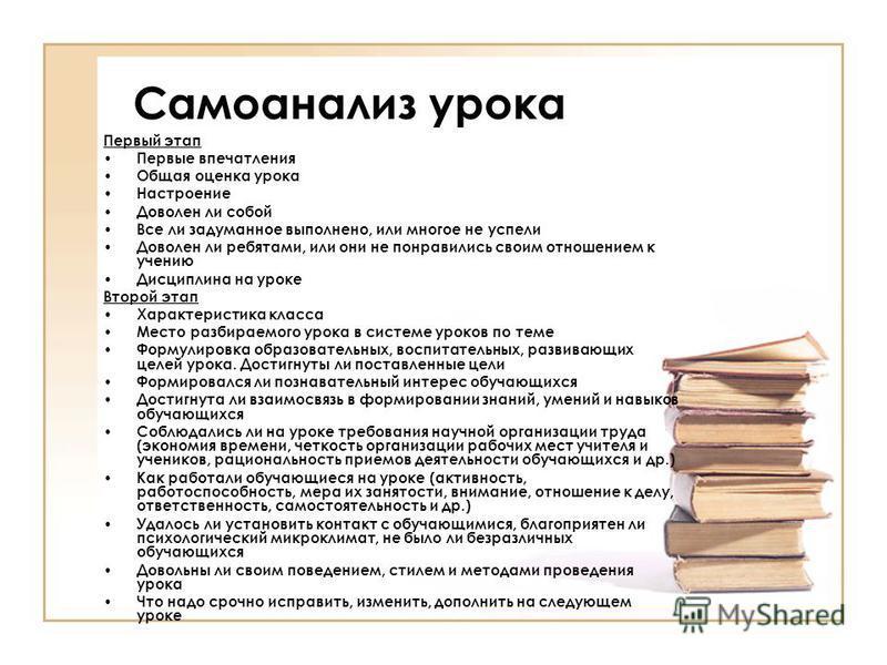 Самоанализ урока школа россии 3 класс