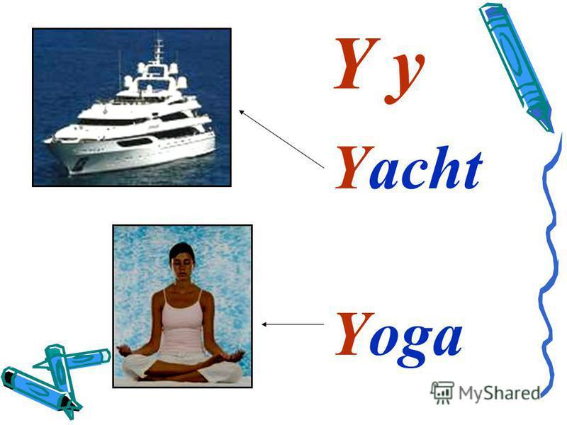 Y y Yacht Yoga