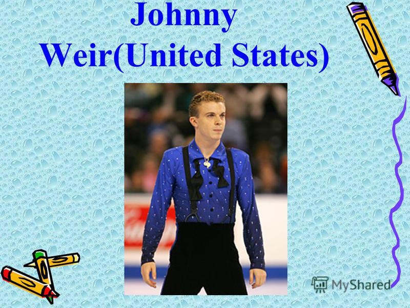 Johnny Weir(United States)